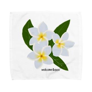 プルメリア Towel Handkerchief
