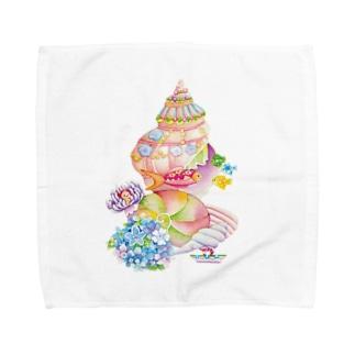 貝の家 Towel handkerchiefs