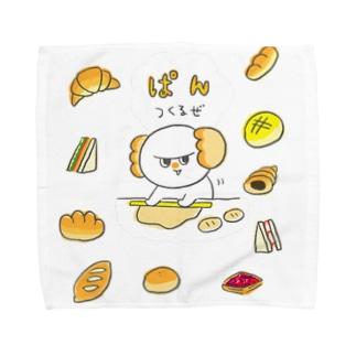 パンたろう Towel handkerchiefs