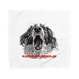 ホラーなkooiker Towel handkerchiefs