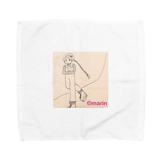 アイススケート⛸少女 Towel handkerchiefs