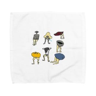 ケツアシセブン Towel handkerchiefs
