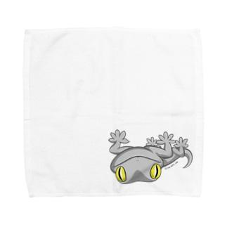 ニホンヤモリミニタオル(L) ※Lサイズ限定 Towel handkerchiefs
