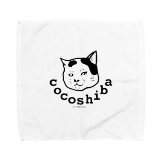 ココシバのココシバ×湯本たま Towel handkerchiefs