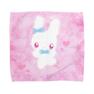 うさ Towel handkerchiefs