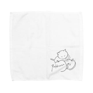 りんごパッカーン Towel handkerchiefs