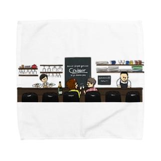 Couleurカウンター Towel handkerchiefs
