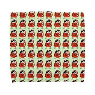 達磨さん Towel handkerchiefs
