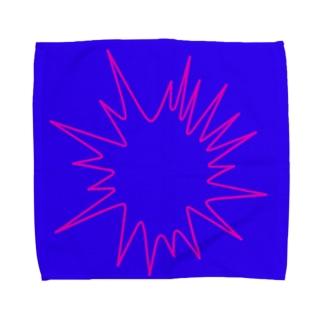 ハジけるアオ Towel handkerchiefs
