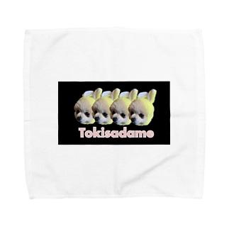 腹黒トーストちゃんグッズ Towel handkerchiefs