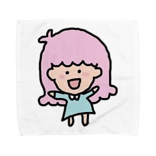 モモガール Towel Handkerchief