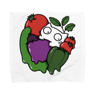 summer vegetables Towel handkerchiefs