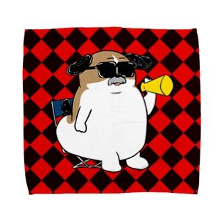 もじゃまる監督 Towel handkerchiefs