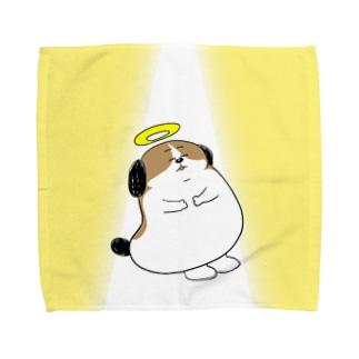 もじゃまる昇天 Towel handkerchiefs
