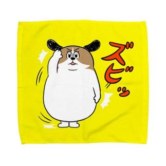 もじゃまる了解 Towel handkerchiefs