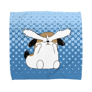 もじゃまる号泣 Towel handkerchiefs