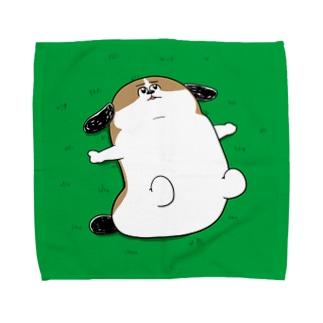 もじゃまる草原 Towel handkerchiefs