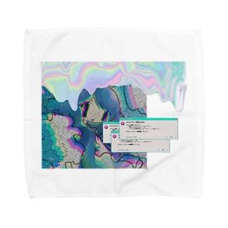 Vaporwaveちぁ! Towel handkerchiefs