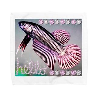 AIぽん太のワイルドベタ ROSEGOLD💗 Towel handkerchiefs