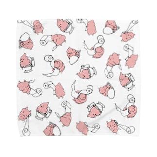 UNCHIKUN(トイレでの)散らし Towel handkerchiefs