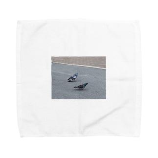 鳩ズ Towel handkerchiefs