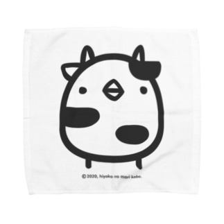 ひよこうし Towel handkerchiefs
