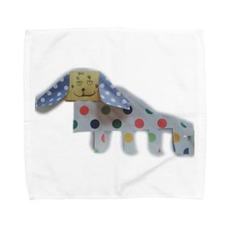 ねこの犬のれいちゃん Towel handkerchiefs