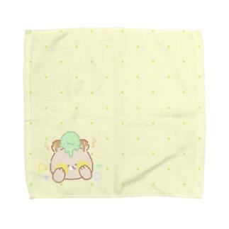 ミニタオルべあー Towel handkerchiefs