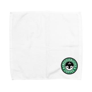 Freddiebucks Coffee Towel handkerchiefs