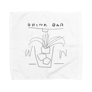 DRINK BAR Towel handkerchiefs
