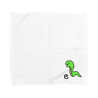 巳 へび Towel handkerchiefs