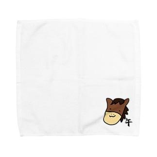 午 うま Towel handkerchiefs