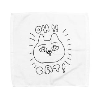 OH!!CAT! Towel handkerchiefs