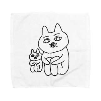 小さな私と大きな私 Towel handkerchiefs