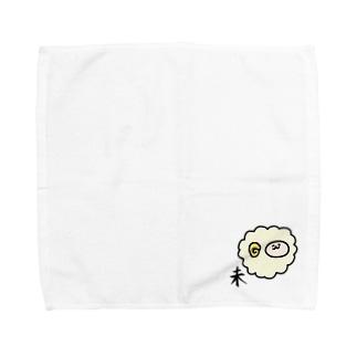 未 ひつじ Towel handkerchiefs