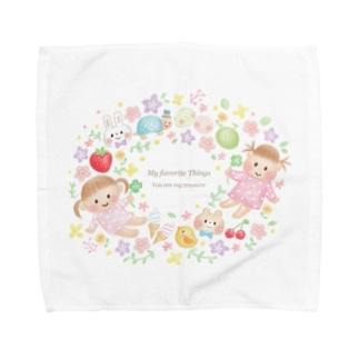 ぷちこちゃん Towel handkerchiefs