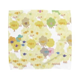 羊羊ひつじ Towel handkerchiefs