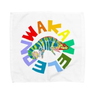 わかめれおん Towel handkerchiefs
