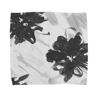 pattern Flower Towel handkerchiefs