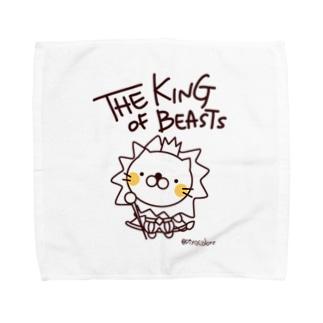 百獣の王ライオンくん Towel handkerchiefs