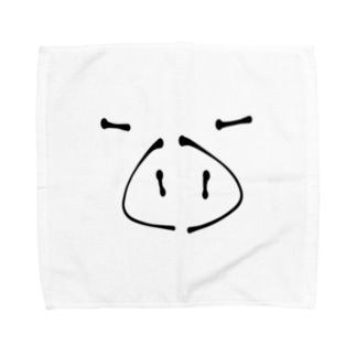 ぶた Towel handkerchiefs