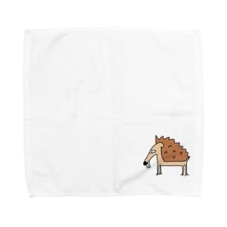 傷口にハリネズミ Towel handkerchiefs