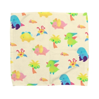 きょうりゅうのハンカチ Towel handkerchiefs