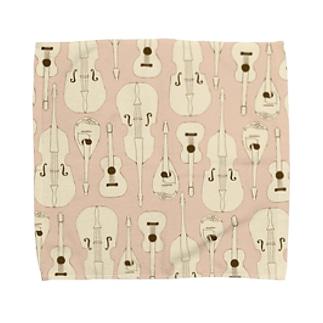 マンドリンオーケストラ(pink) Towel handkerchiefs