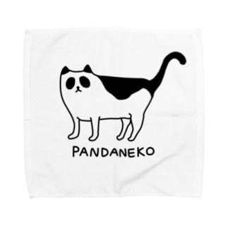 パンダネコ Towel handkerchiefs