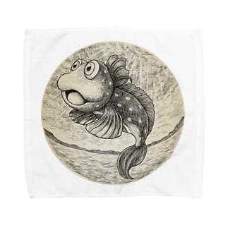 恋のミラクルジャンプ Towel handkerchiefs