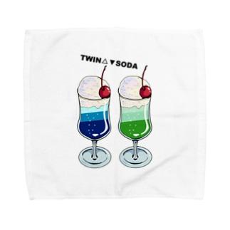 ツインソーダ Towel handkerchiefs