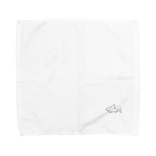 サメチャン Towel handkerchiefs