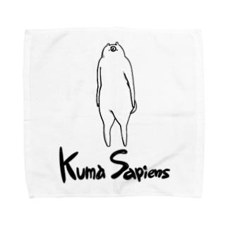 KumaSapiens タオルハンカチ