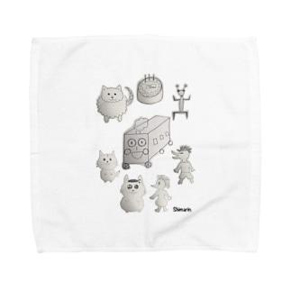 しまりん第1回wallpaper画伯大会優勝記念 Towel handkerchiefs